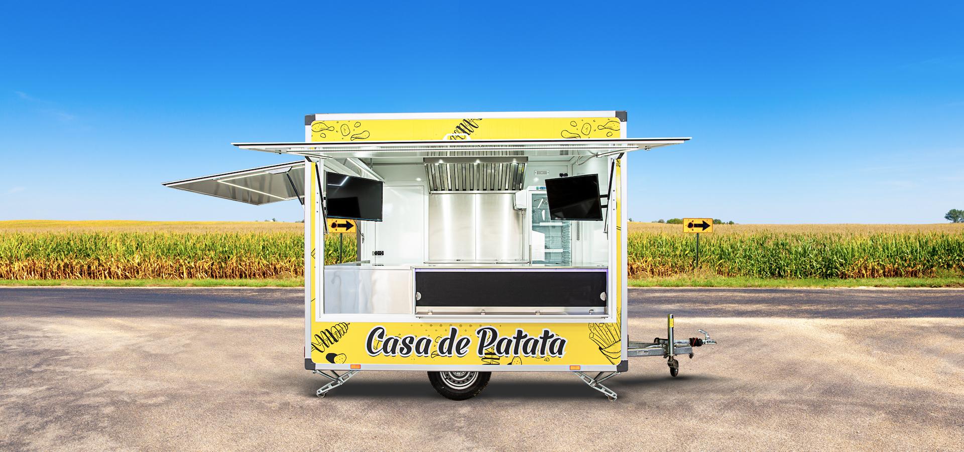 przyczepa gastronomiczna casa de patata